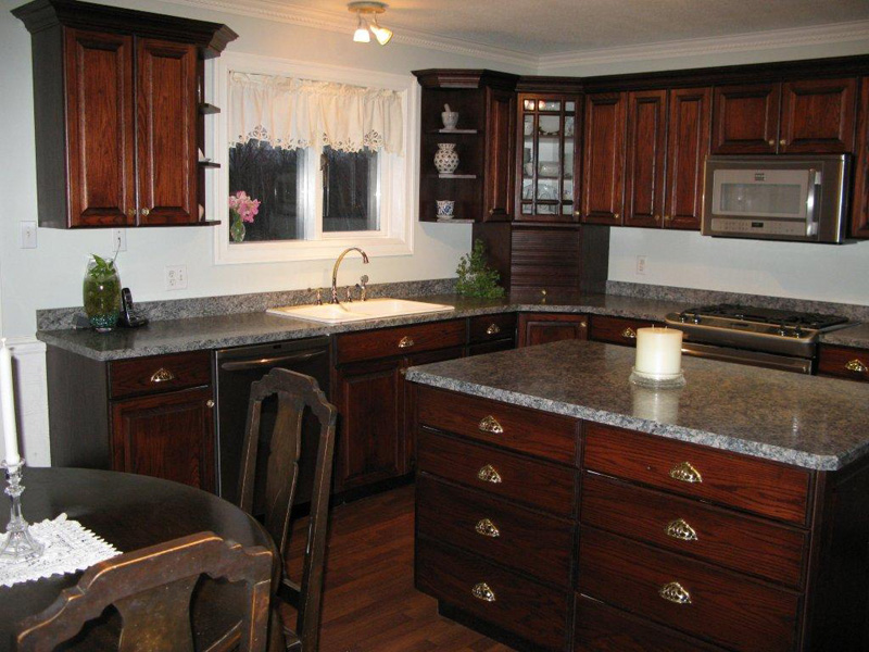 Save & Stained Oak Kitchens -Advantage Cabinets Advantage Cabinets kurilladesign.com