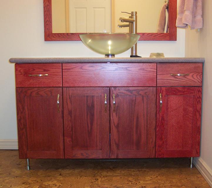 Stained Oak Kitchens -Advantage Cabinets Advantage Cabinets